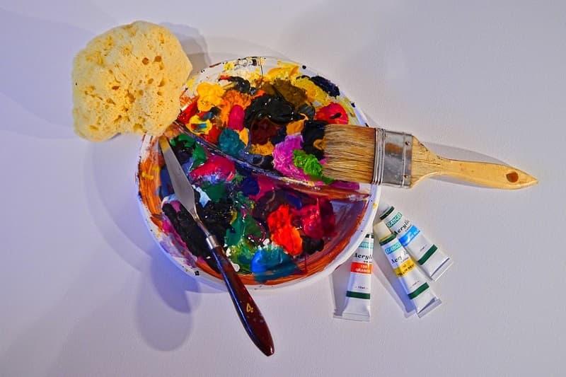 Comment Peindre Avec De La Peinture Acrylique