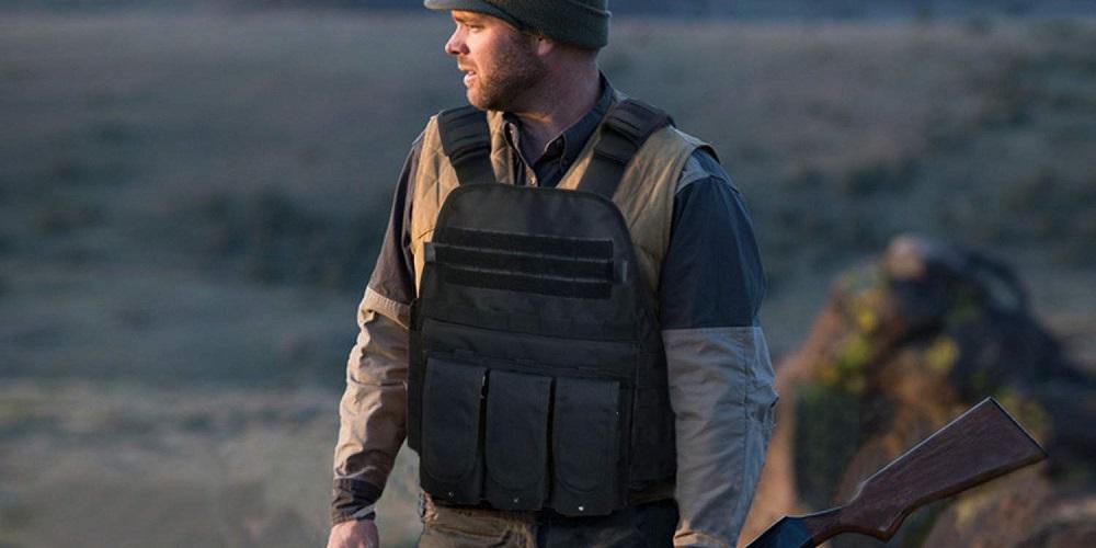 Costume Militaire Airsoft Paintball WOLIORS Gilet Tactique pour Policier et Policier